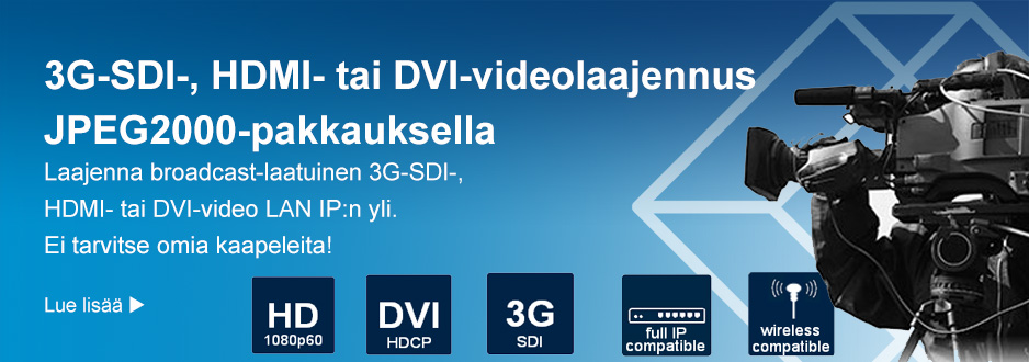 HD-over-IP Enkooderi/Dekooderi