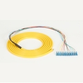 OS2 Single-Mode Fiber Optic Pigtails, Yellow