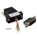 DB15 to RJ-45 Modular Adapter Kit Unassembled