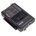 PoE+ Industrial Gigabit Ethernet Media Converter