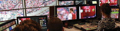 KVM in Stadiums & Arenas